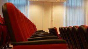 Scaune Cinema Pluto Antares Romania srl - Universitatea Tehnica Cluj - Napoca